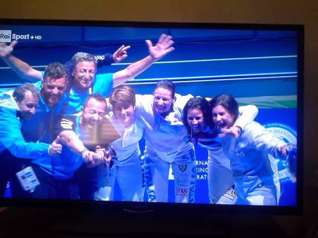 Sport:Loreta Gulotta vince la medaglia d' Oro ai mondiali di scherma