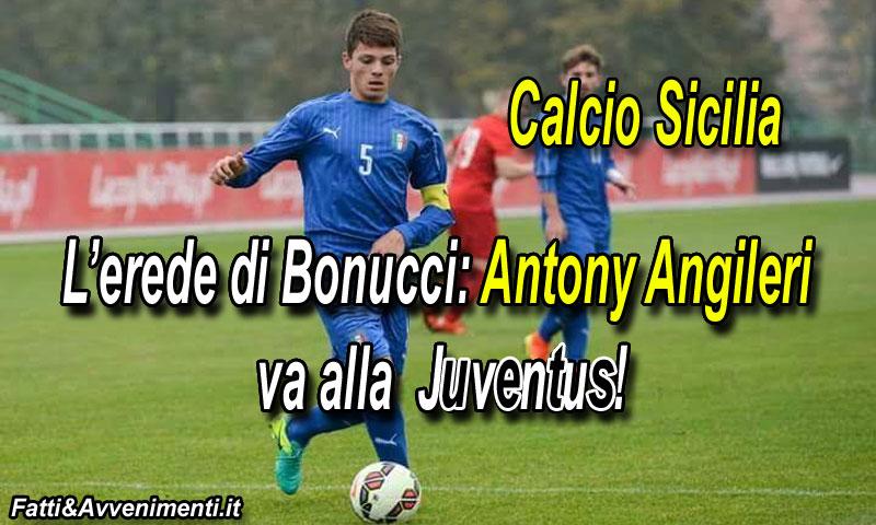 Il Palermo saluta Angileri acquistato dalla Juventus