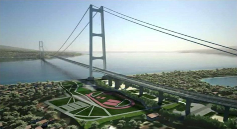NOVITA': Il candidato Micari del PD lancia la costruzione del  ponte sullo stretto