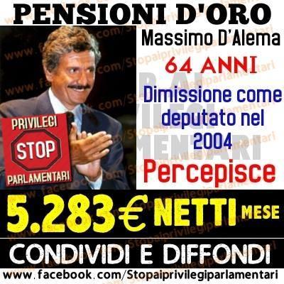 In Italia le pensioni d'oro e le pensioni baby ci costano 45 miliardi ogni anno
