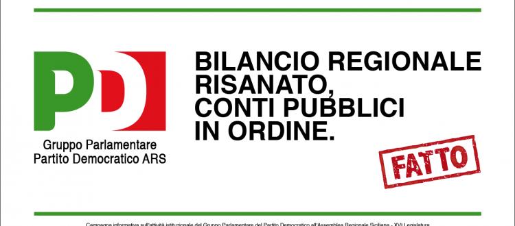 La Regione siciliana è in sostanziale default, anche se Baccei e i manifesti del PD dicono il contrario