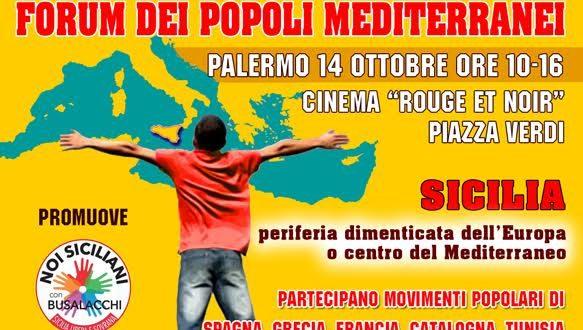 """A Palermo il Forum internazionale della sinistra mediterranea: """"Uniti contro la dittatura della finanza"""""""