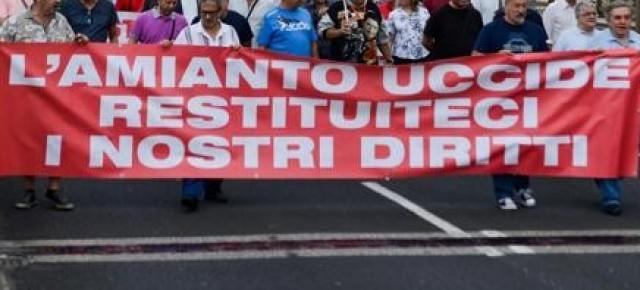 Palermo:Tutti assolti i vertici delle Ferrovie accusati di omicidio colposo per l'amianto nei luoghi di lavorot