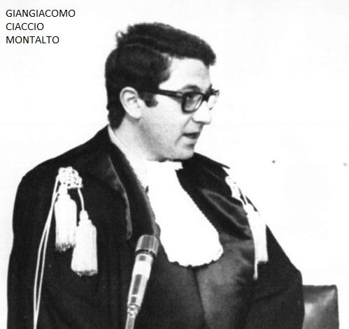omicidio del giudice Ciaccio Montalto :il Csm desecreta atti a 35 anni dalla morte