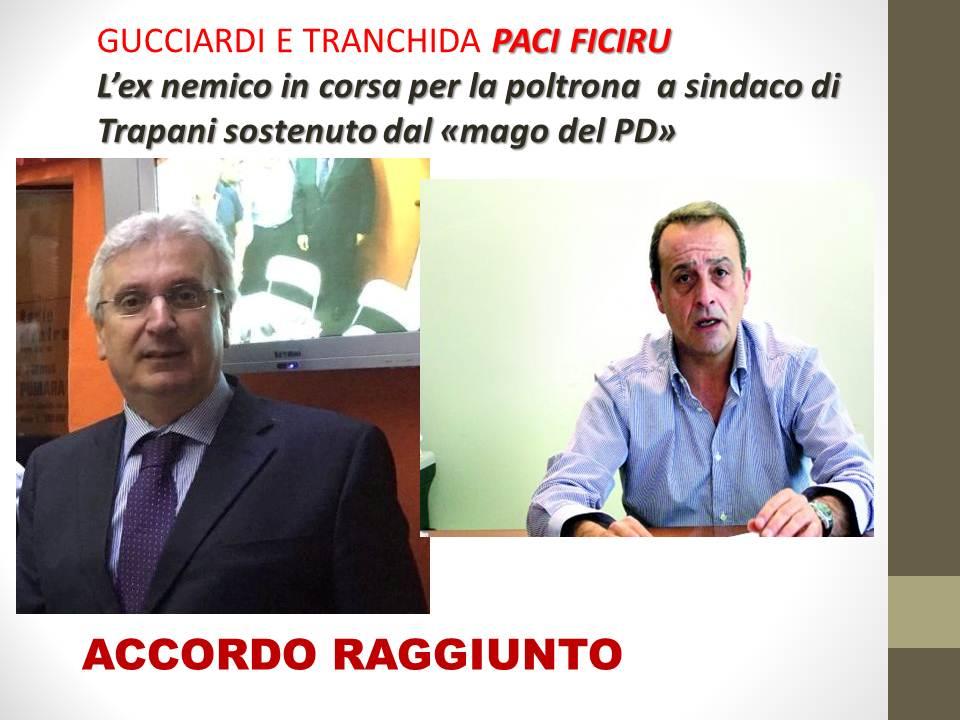 """Trapani: scoppia la pace tra il """"mago"""" Gucciardi e Tranchida , Savona lascia"""
