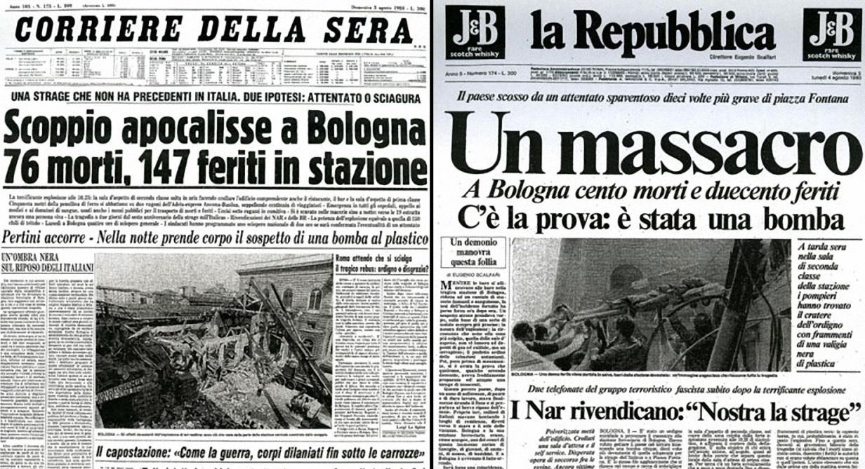 Strage della stazione di Bologna: una nuova perizia sull'ordigno scagionerebbe Fioravanti e Mambro