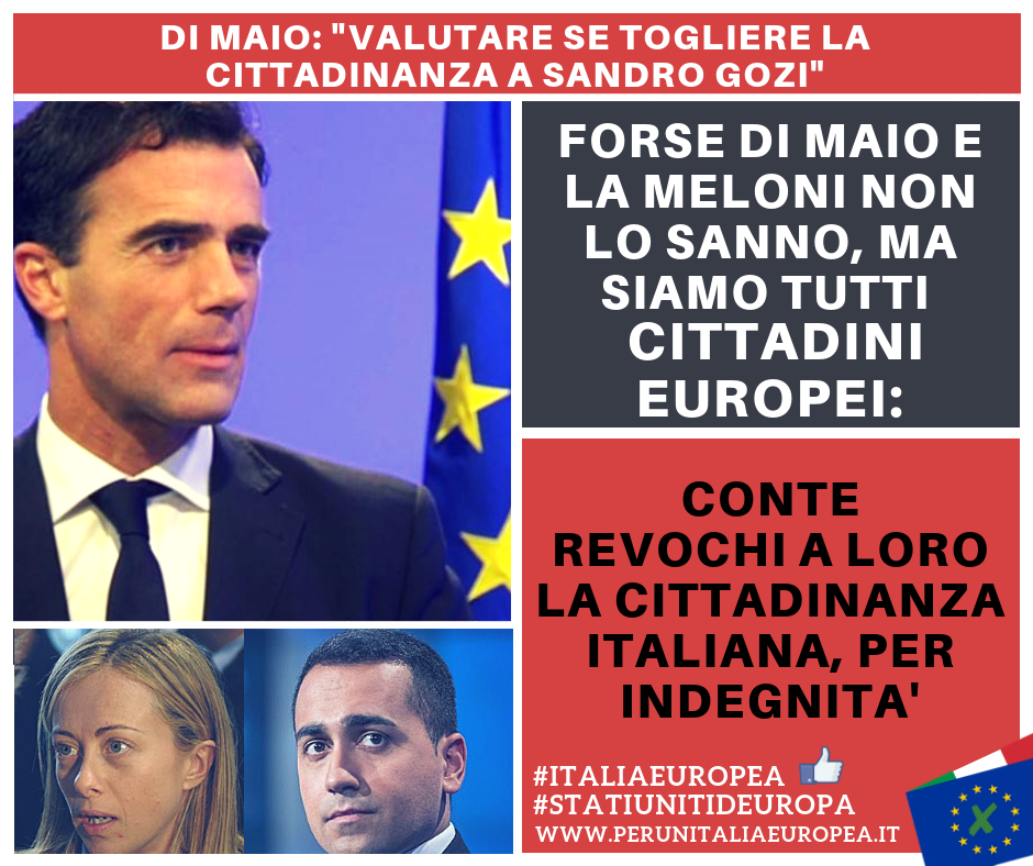 A CHI SAREBBE MEGLIO REVOCARE LA CITTADINANZA ITALIANA?