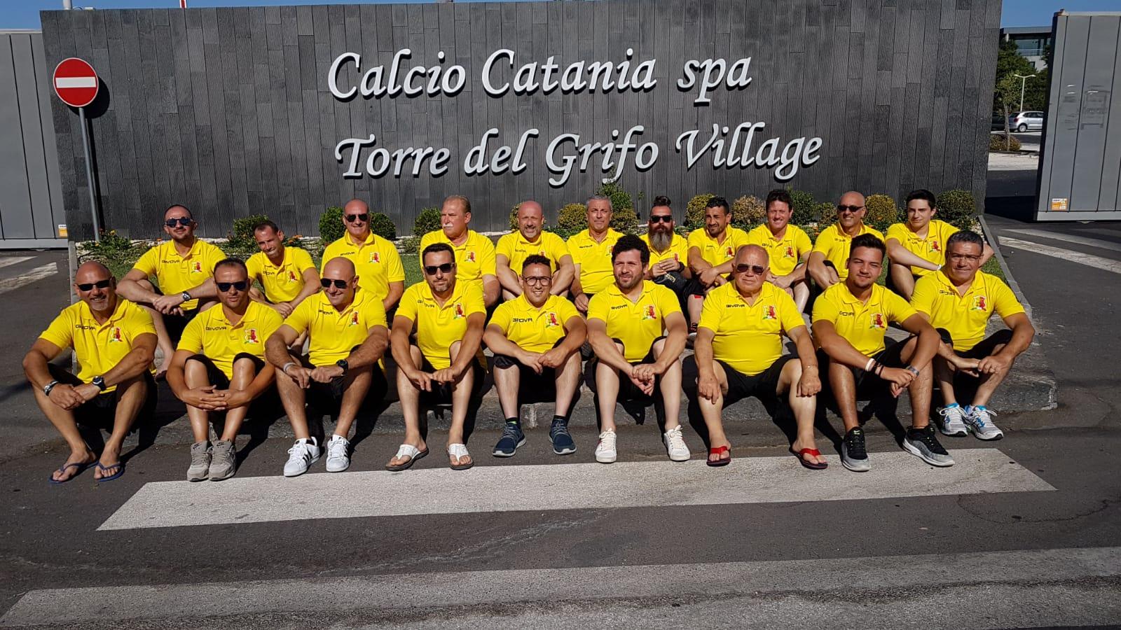 Evento calcistico a Torre del Grifo, Selinunte Italia protagonista