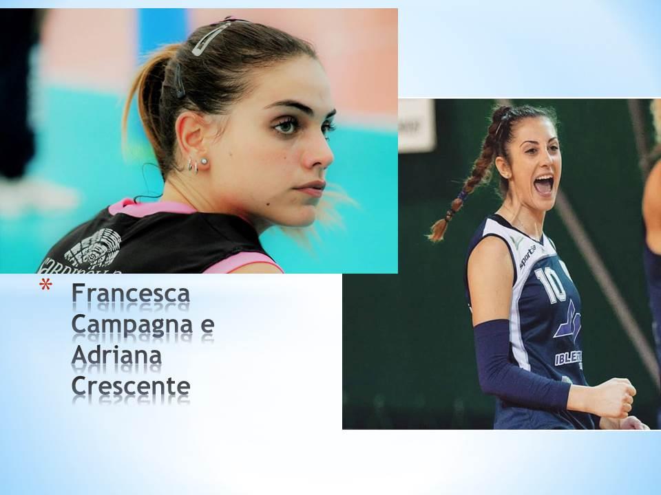 Volley: le castelvetranesi Campagna e Crescente a Palermo alla corte del coach Pirrotta
