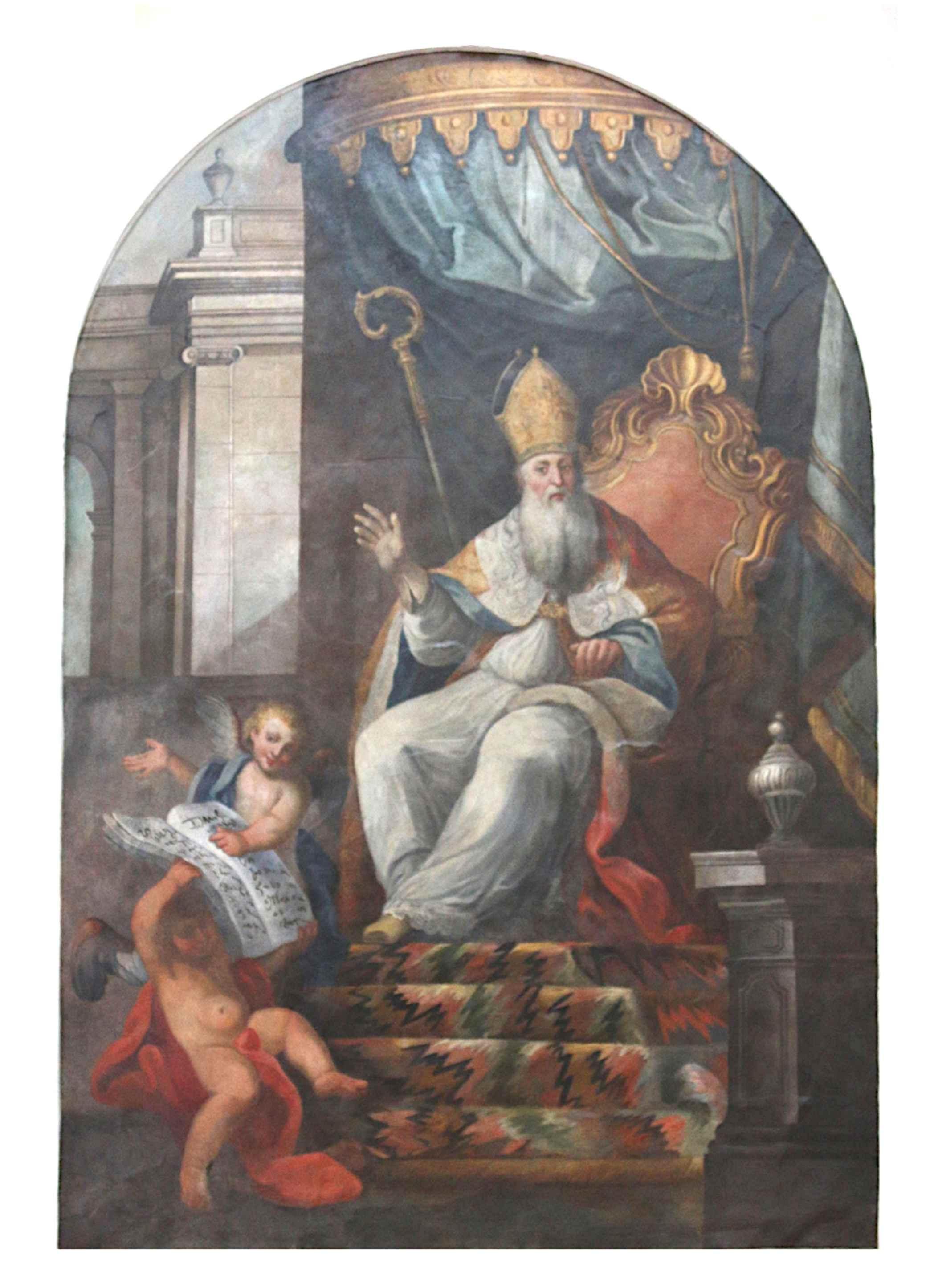 Notti di BCsicilia,Geraci Siculo: si presenta l'affresco di Sant'Agostino restaurato