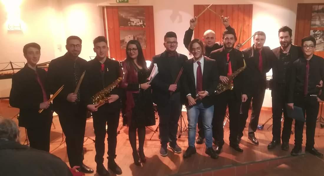 Roccapalumba, le musiche dei Percusax alle Notti di BCsicilia.