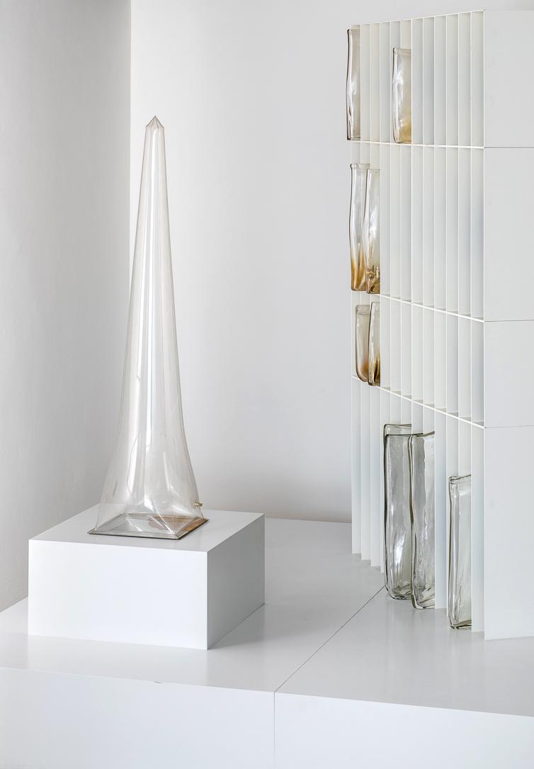 Per la Venice Glass Week  Cramum presenta la coraggiosa Mostra SOFFI : cosa accomuna plastica e vetro?