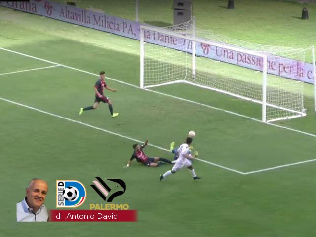 Palermo come un rullo compressore. Battuto 3-1 il Ragusa !