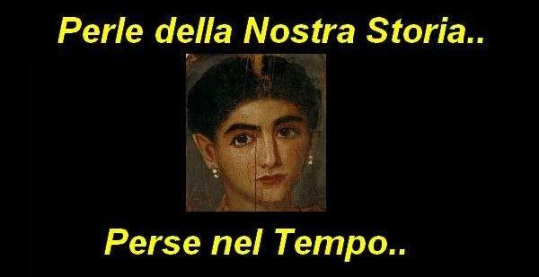 LA GULETTA –  Una Perla della Nostra  Storia persa nel Tempo.. dall'età  romana-imperiale ad oggi…