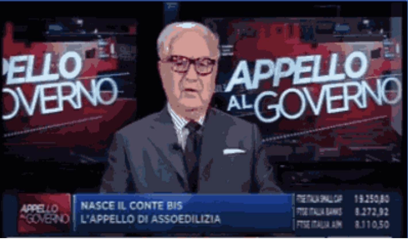 Appello di Assoedilizia al nuovo Governo – Intervista al Presidente Achille Colombo Clerici di Gualtiero Lugli – TV Class CNBC