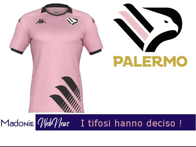 I tifosi hanno deciso. Il Palermo ha la sua nuova maglia