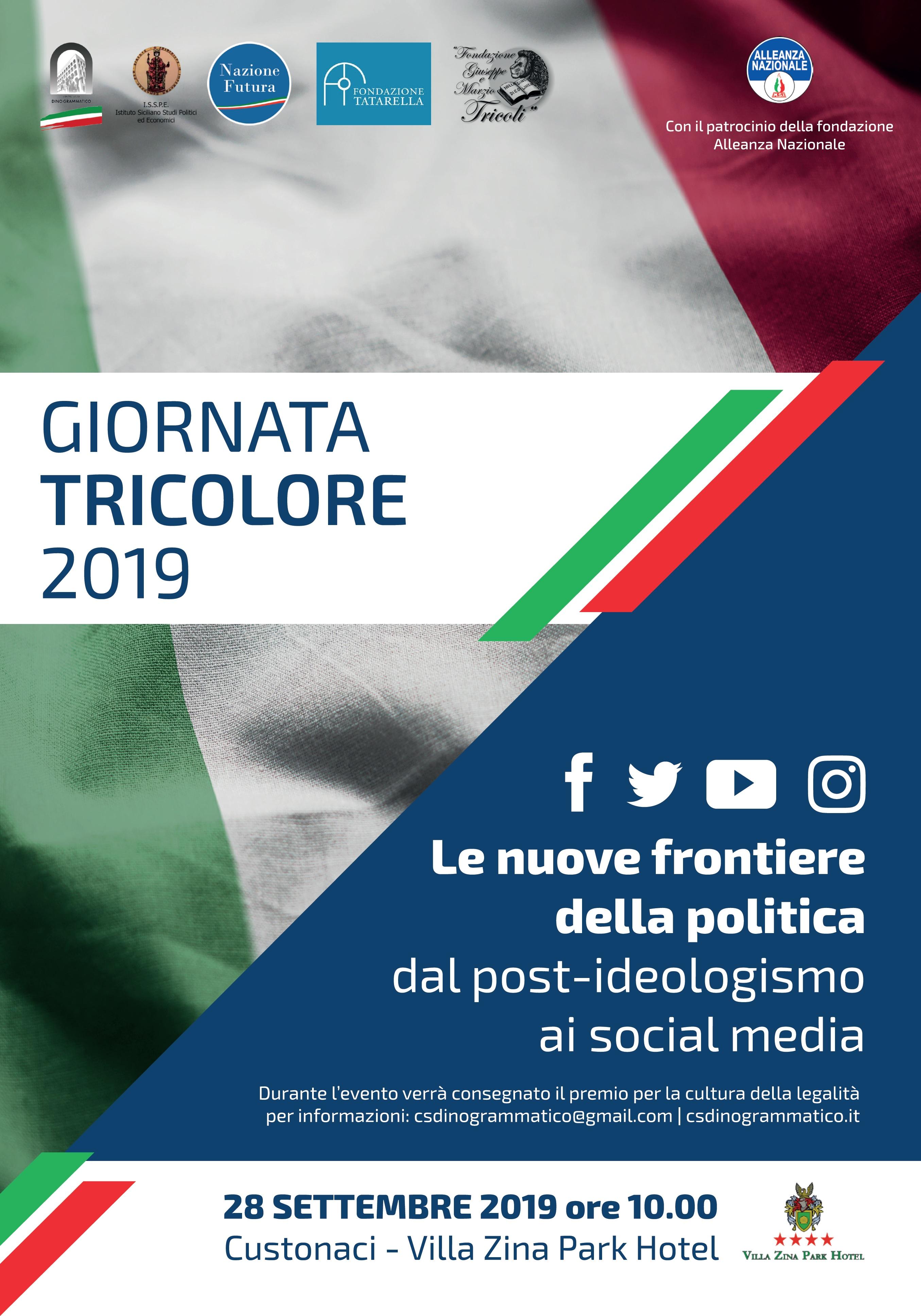 A Custonaci si terrà la tradizionale «Giornata Tricolore 2019»