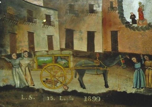Notti di BCsicilia, Altavilla Milicia: visita al Museo degli ex voto del Santuario.
