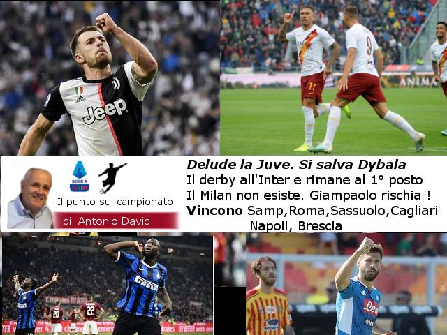 Che brutta Juve. Il Derby all'Inter, Milan irriconoscibile !