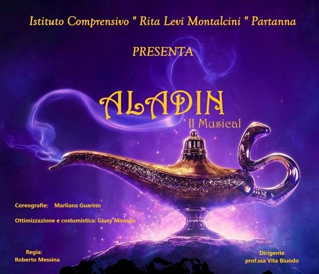 Partanna – Domani sera il musical Aladdin in piazza Falcone e Borsellino