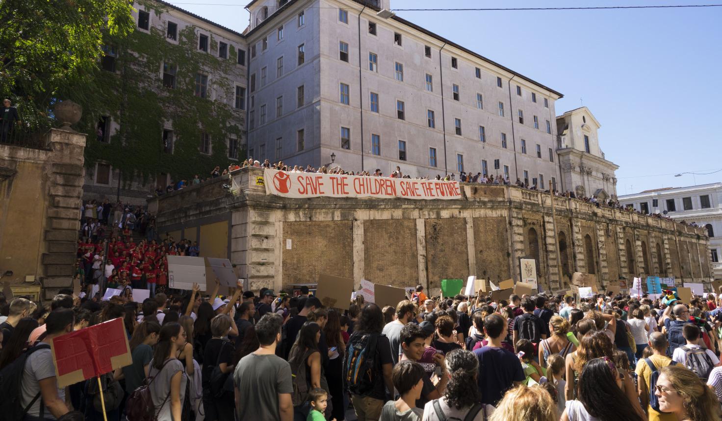 Global Strike for Future: Save the Children aderisce al corteo di Roma e promuove attività di sensibilizzazione in altre 10 città