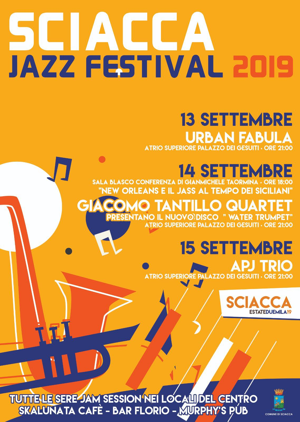 Sciacca Jazz Festival, ingresso gratuito e prenotazione online