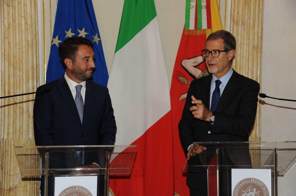 Accordo tra Cancelleri e Musumeci per il rilancio della Sicilia ma, si sono dimenticati delle promesse ai Forestali