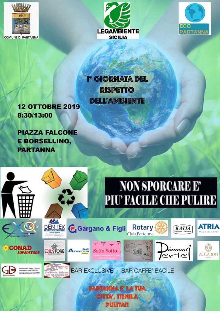 Partanna – Domani la giornata Eco Partanna