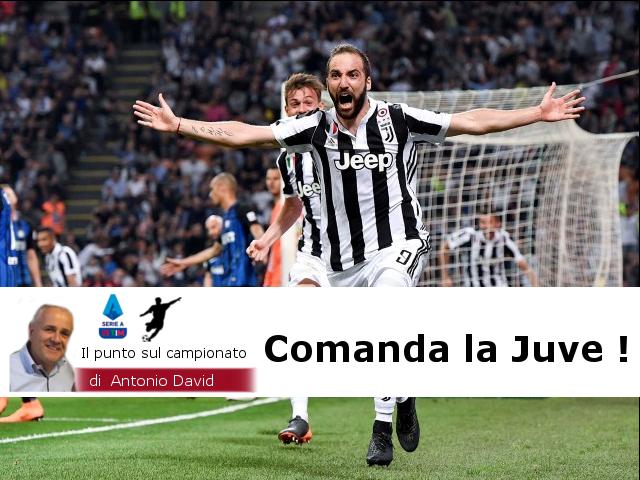 Il punto sul campionato di Antonio David…..Comanda la Juve