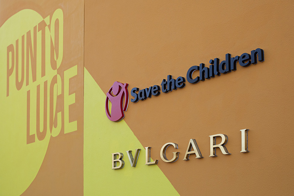 Povertà educativa: Save the Children e Bvlgari inaugurano a Ostia il Punto Luce delle Arti