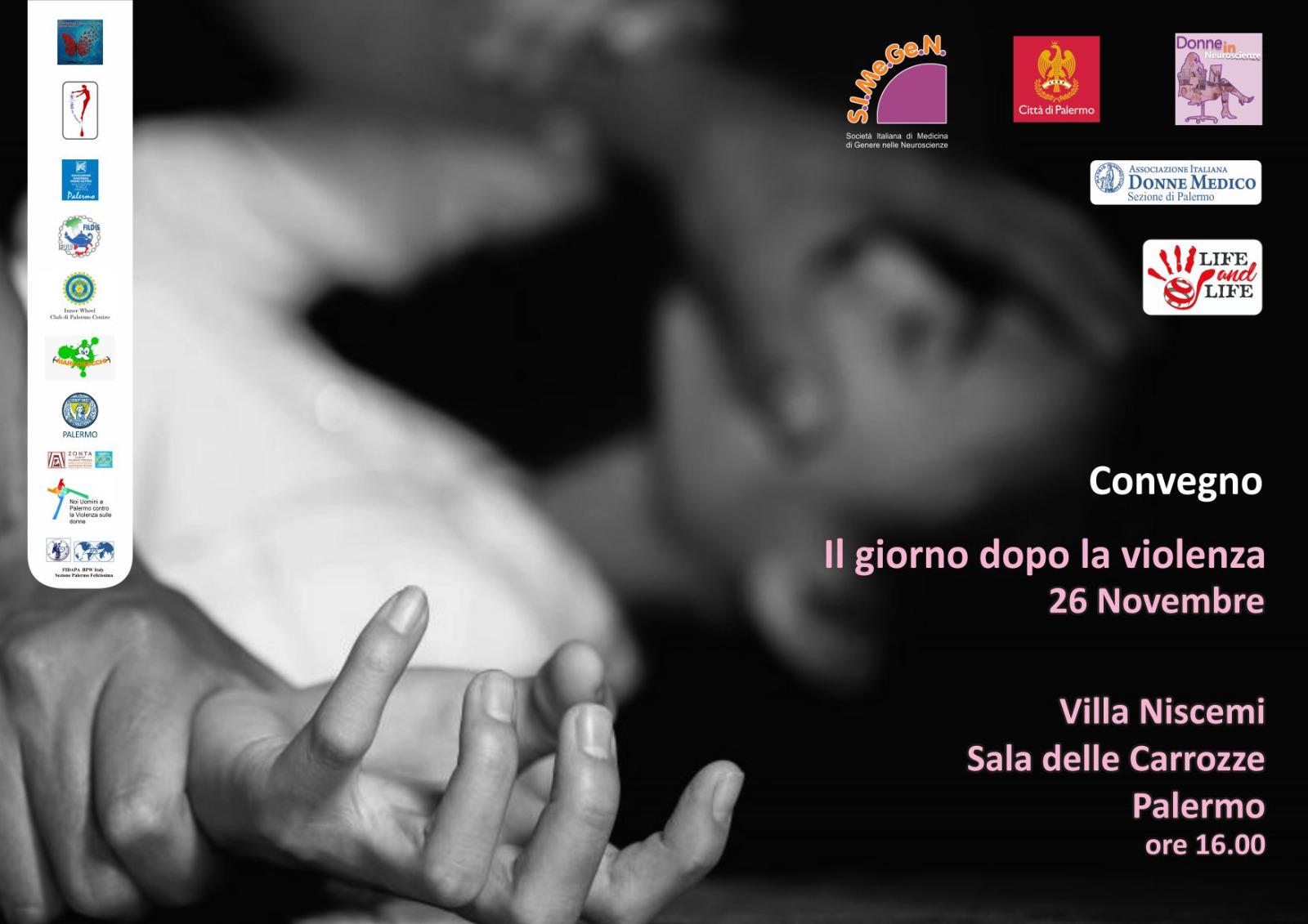 A VillaNiscemi, martedì 26 novembre, storie ed esperienze di donne che raccontano violenze e maltrattamenti