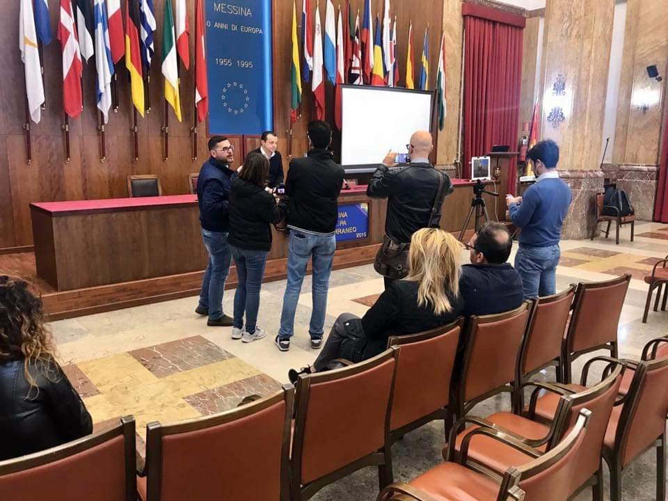 """L'ex giunta Accorinti diserta il confronto con l'Amministrazione, Sindaco De Luca: """"Vergogna, non ci si comporta da vigliacchi"""""""