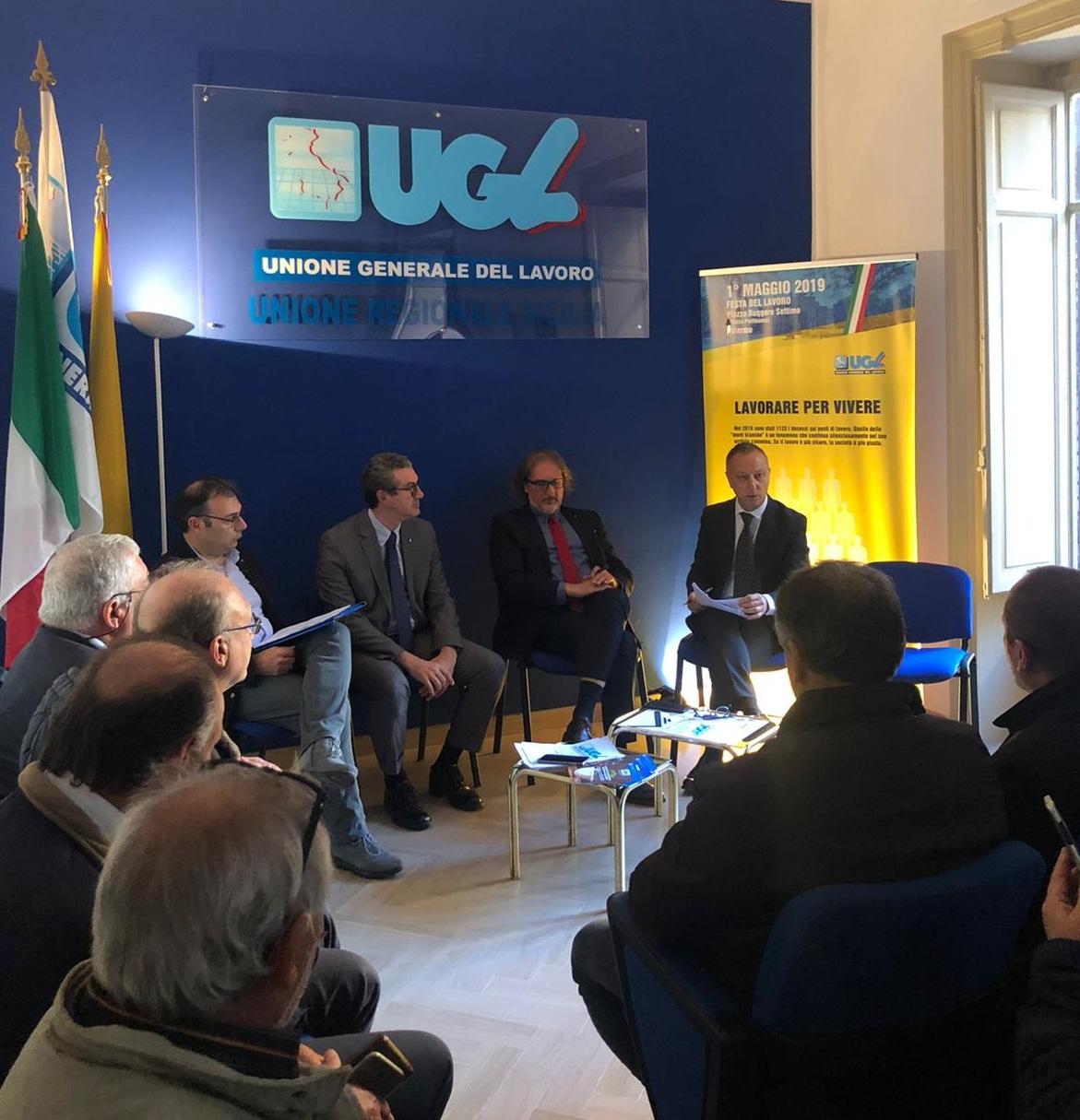 """UGL Sicilia incontra l'assessore Cordaro. Arena:""""Chiediamo  tempi certi per la riforma del comparto forestale"""""""