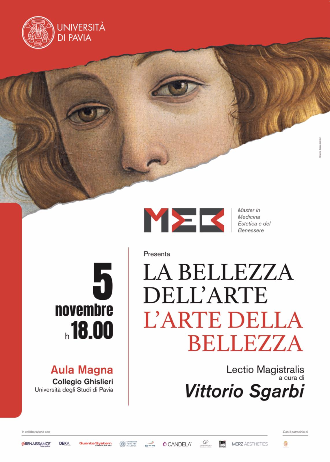 Ottava edizione del Master di Secondo Livello di Medicina Estetica e del Benessere dell'Università di Pavia