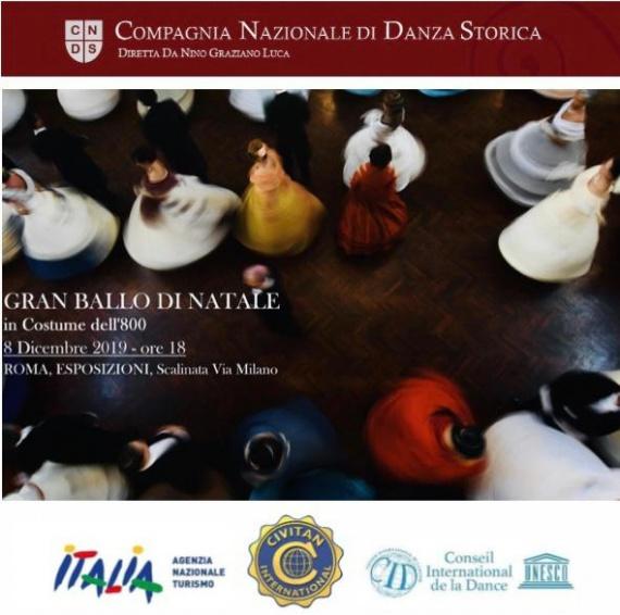 8 dicembre ore 18:00 Palazzo delle Esposizioni_ Daria Baykalova protagonista del Gran Ballo di Natale
