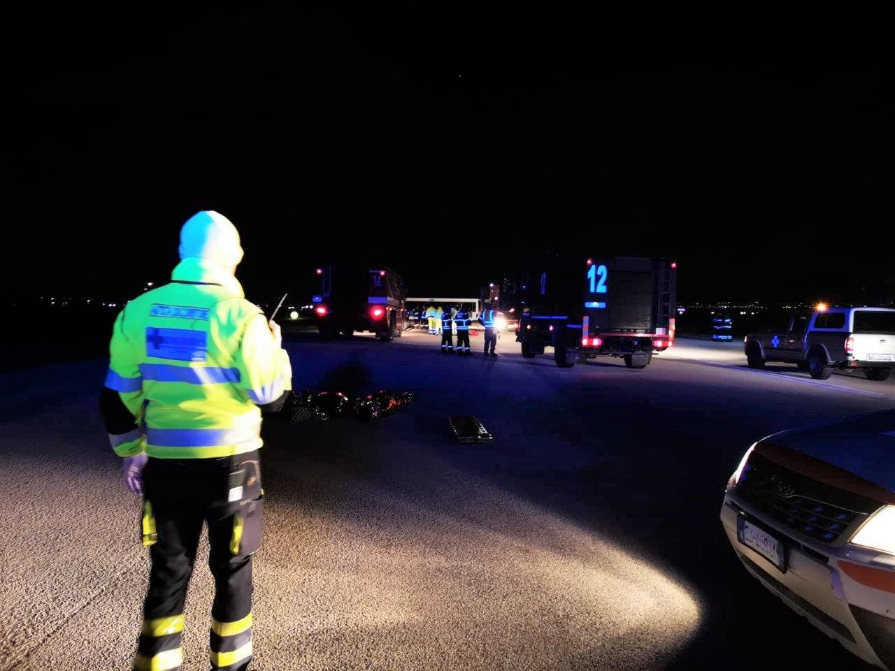 Aeroporto di Trapani: superato il test di emergenza aeroportuale con un grande schieramento di uomini e mezzi