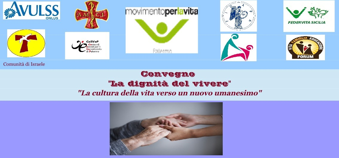"""""""La dignità del vivere"""", convegno al Don Orione di Palermo"""