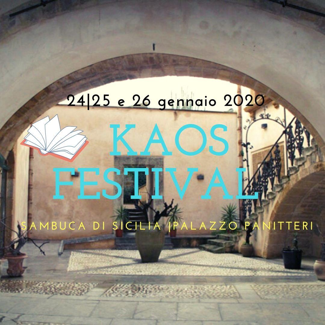 Torna il KAOS festival a Sambuca di Sicilia, il 24, 25 e 26 gennaio 2020 |Salvatore Ferlita il presidente di giuria di questa edizione. Ecco i finalisti.