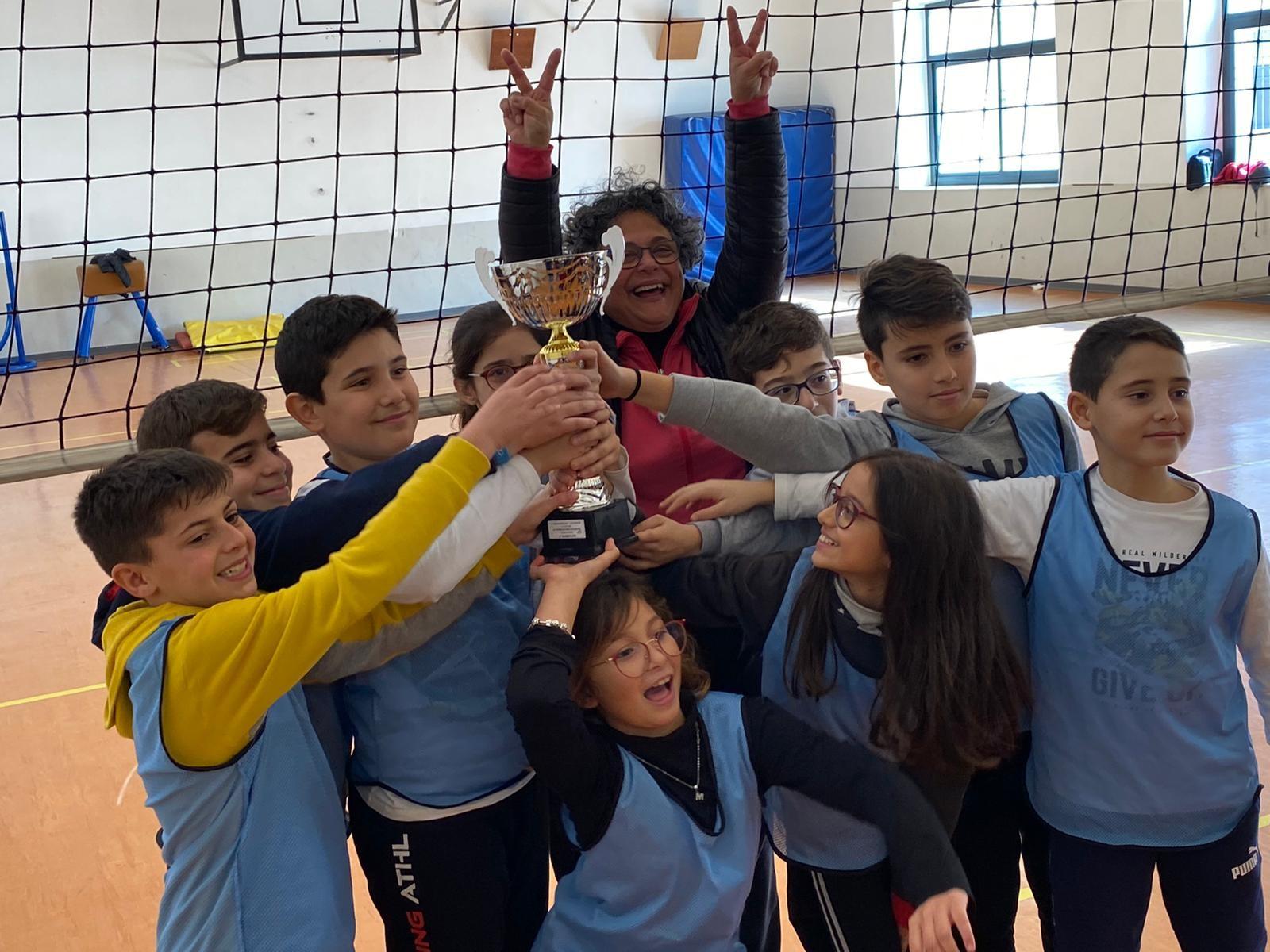 Finale di Palla Rilanciata: Vittoria degli alunni del Capuana-Pardo