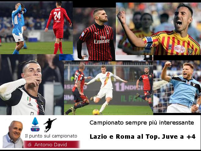 Lazio e Roma al top. Fà tutto Donnarumma. L'Inter si ferma. Il Ringhio non va, mentre CR7…