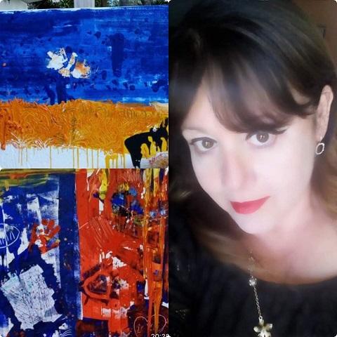 """Arte moderna contemporanea a Palermo: mostra personale di Patrizia Prado Dal 28 febbraio al 13 marzo a Palazzo Jung, """"Segno-Colore-Materia"""""""