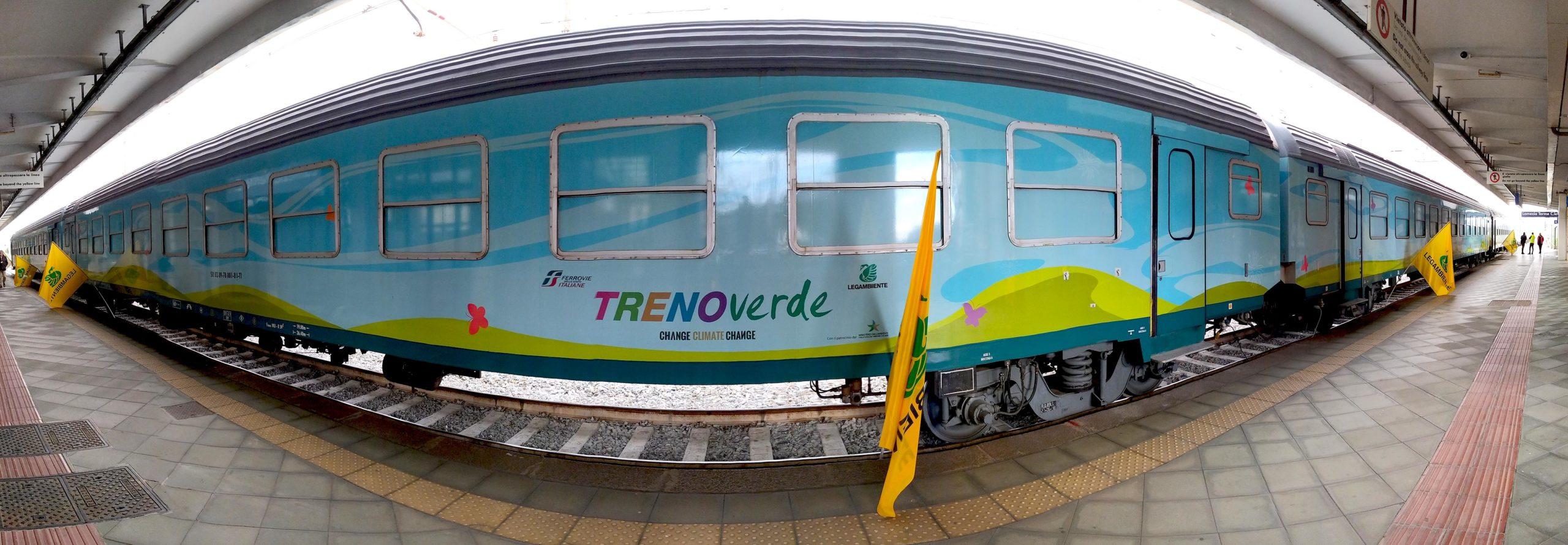 Il Treno Verde arriva ad Agrigento per raccontare gli effetti della crisi climatica e le buone pratiche per fermarla