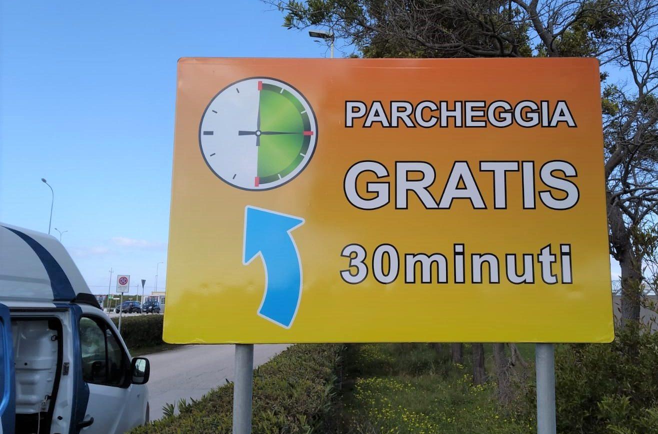 Aeroporto Vincenzo Florio di Trapani Birgi: adesso il parcheggio è gratis per 30 minuti