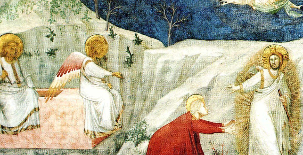 La prima Pasqua dell'umanità errante e ferita