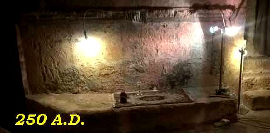 """LA SICILIA  NASCOSTA   –  Mazara del Vallo – """"La cripta di S. Francesco"""". La sua storia """"narrata da Don Nicola Misuraca."""