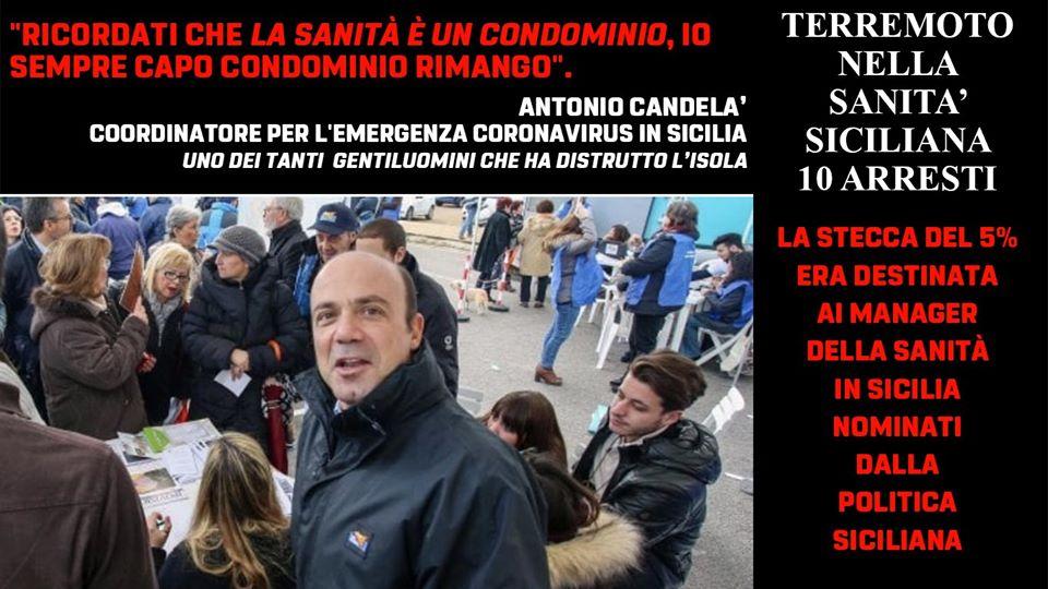 """Scandalo sanità Sicilia – Michele Sodano (M5S): """"Individui che rubano il futuro ad ogni singolo siciliano."""""""