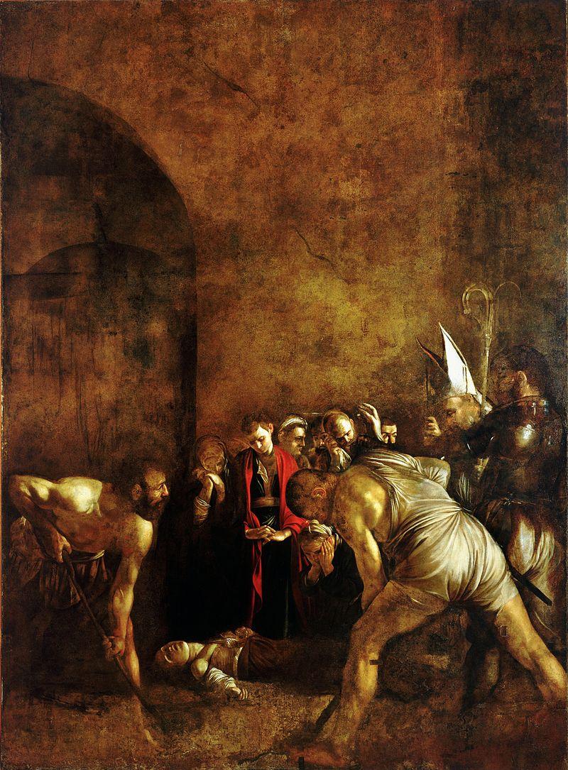 """BCsicilia contraria all'ennesimo trasferimento del capolavoro di Caravaggio """"Il seppellimento di S. Lucia"""""""