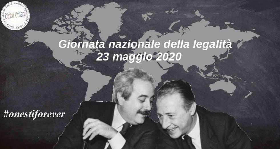 Giornata nazionale della legalità 2020