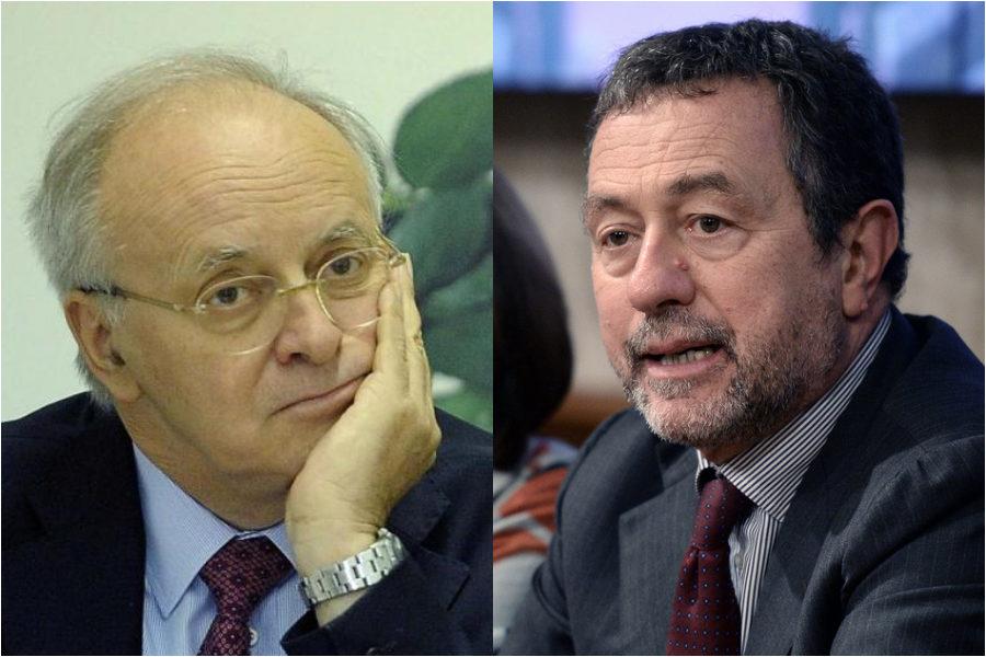 """Magistrati e politica , Caiazza a Davigo  : """"Ogni volta che si forma un governo, 200 magistrati nell'esecutivo"""" .La replica: """" il problema è aspettare le sentenze"""""""