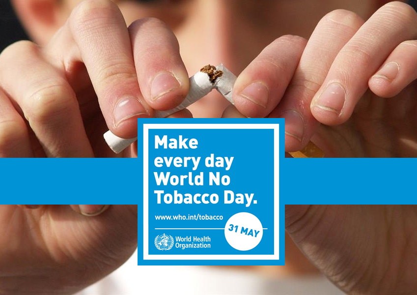 World No Tobacco Day 2020 (31 maggio)